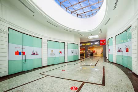 Shop for Rent in Al Majaz, Sharjah - Shops for Rent with a new commercial center in Al Majaz 3