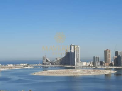 1 Bedroom Apartment for Rent in Al Taawun, Sharjah - Sea View 1BR   Free Parking+Gym+Pool   6Chqs
