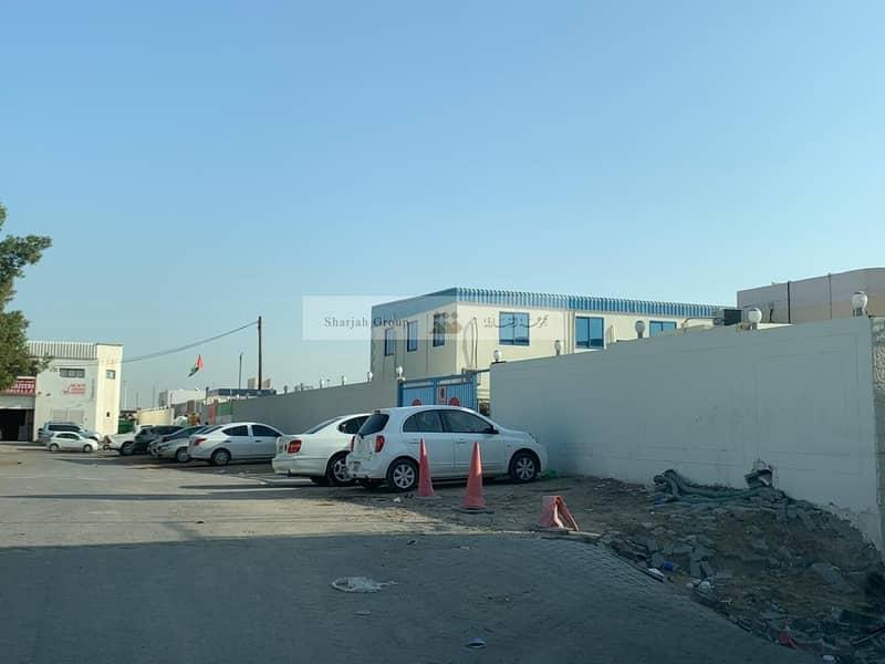 Labor Camp Bldg w/ Offices (G+1) /Warehouse