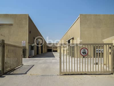 Warehouse for Rent in Dubai Investment Park (DIP), Dubai - 2000 SQ. FT to 3240 SQ. FT.  Warehouse in DIP 2 with Electrical Power KW 30