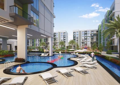 استوديو  للبيع في المدينة العالمية، دبي - خطة سداد لمدة 7 سنوات مع أفضل تصميم
