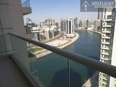 2 Bedroom Flat for Rent in Business Bay, Dubai - 2 Bed + Maid Room Canal View