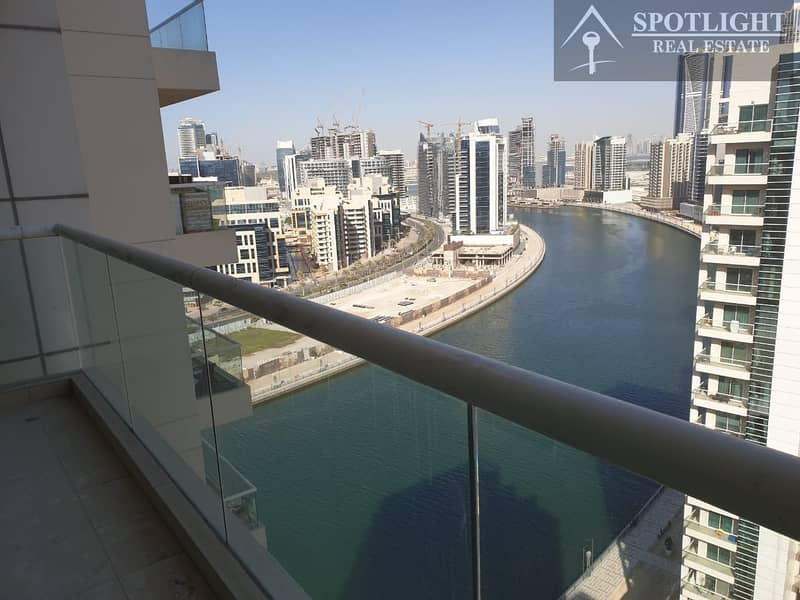 2 Bed + Maid Room Canal View