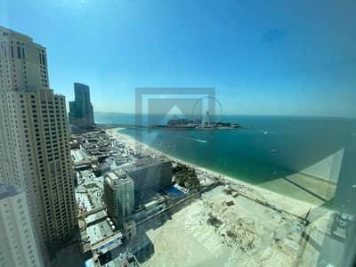 3 Bedroom Apartment for Sale in Jumeirah Beach Residence (JBR), Dubai - full sea view | high floor | spacious sizes