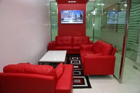 مکتب  للايجار في شارع الشيخ زايد، دبي - Reception