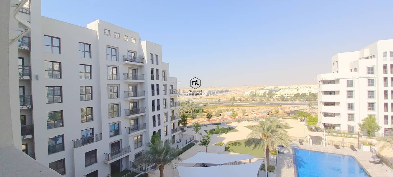 13 FULL POOL VIEW | 1 BED ROOM | BALCONY+PARKING+LAUNDRY | JENNA 2 | TOWN SQUARE