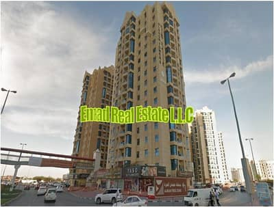 2 Bedroom Flat for Sale in Ajman Downtown, Ajman - Al Khor Towers: Open View, 2 Bed Hall and  Maid 1450 sqft
