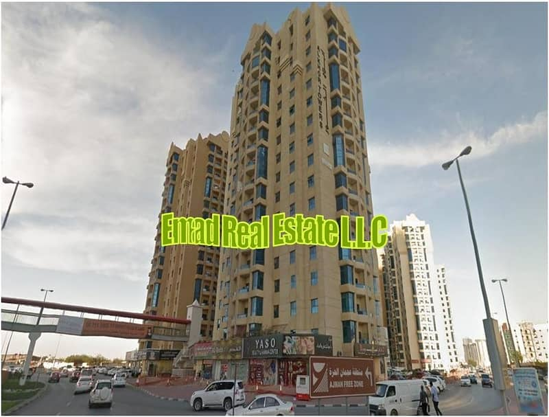 Al Khor Towers: Open View, 2 Bed Hall and  Maid 1450 sqft