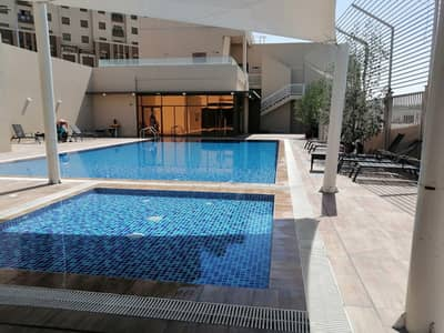 2 Bedroom Apartment for Rent in Mussafah, Abu Dhabi - Massive 2 bed room  4 bath+Maids  +pool gym + Inside Super Mart