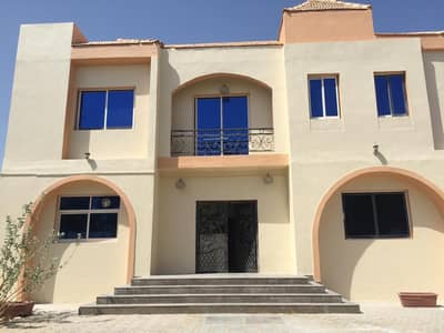 For rent in Ajman Al Hamidiyah, a second floor of a 3-room villa and a fully maintained citizen's electric hall