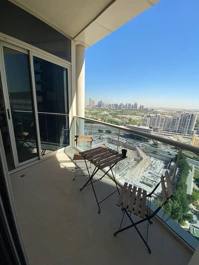فلیٹ 1 غرفة نوم للايجار في أبراج بحيرات الجميرا، دبي - شقة في برج ليك شور أبراج بحيرات الجميرا 1 غرف 50000 درهم - 4826507