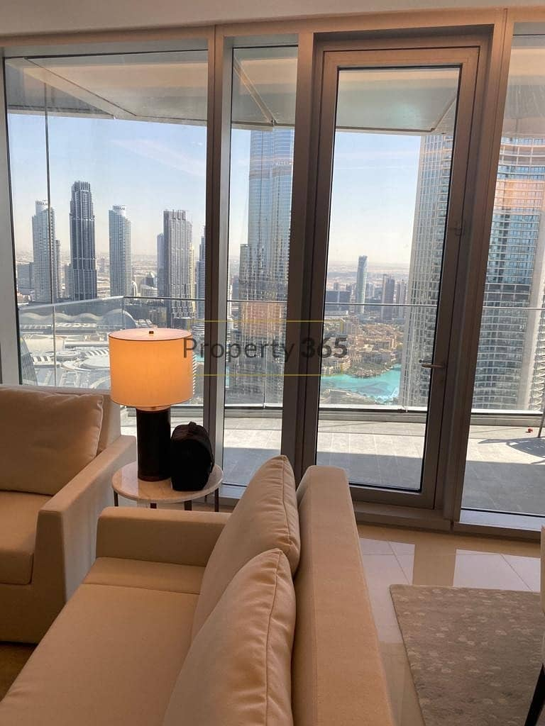 Burj Khalifa View  / 3 bedrooms with Maid`s Room @ The Address  Sky View Tower