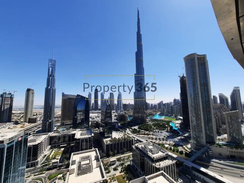 12 Burj Khalifa View  / 3 bedrooms with Maid`s Room @ The Address  Sky View Tower