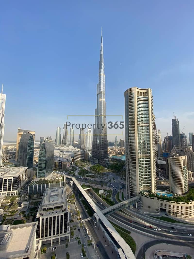 FULL BURJ VIEW / 3 bedrooms + Maid`s Room @ Address Residences  Sky View