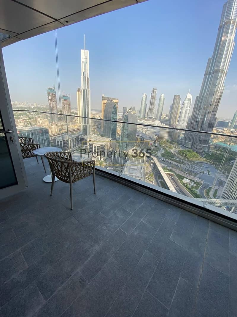 12 FULL BURJ VIEW / 3 bedrooms + Maid`s Room @ Address Residences  Sky View
