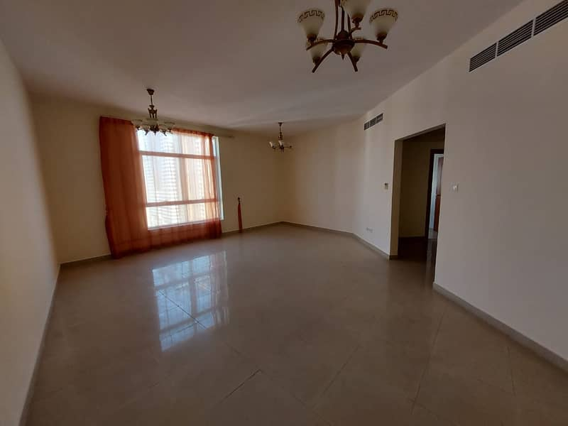Great residential/ 2bhk with 4bath/ balcony /maid room full open view