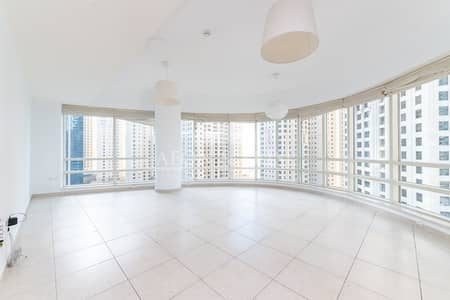 2 Bedroom Flat for Rent in Dubai Marina, Dubai - 2 Bed with Marina Sea View | Higher floor | Sahab