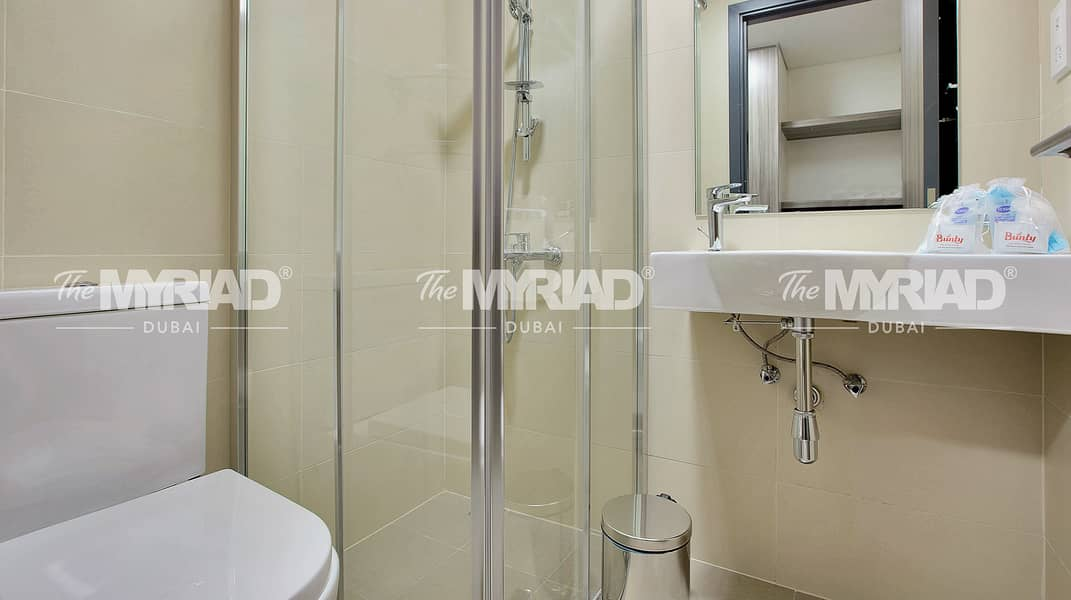 2 Student Accommodation | Double Room - Male Block | The Myriad Dubai