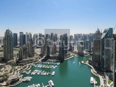 3 Bedroom Flat for Rent in Dubai Marina, Dubai - Excellent Furnished - 13 months contract - High-floor with Park View