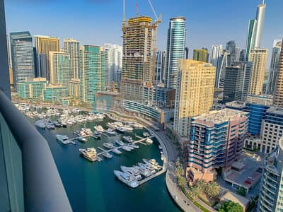 فلیٹ 3 غرف نوم للبيع في دبي مارينا، دبي - Brand New | Full Marina View | High Floor |Vacant