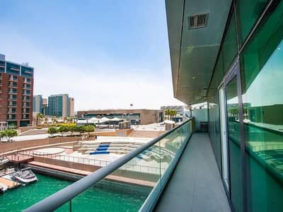 1 Bedroom Flat for Rent in Al Raha Beach, Abu Dhabi - Marina and sea views! 1 bedroom home in Naseem!
