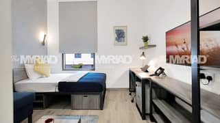 Student Accommodation | Studio Room - Male Block | The Myriad Dubai
