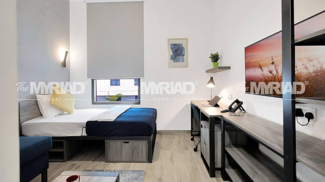 Student Accommodation   Studio Room - Male Block   The Myriad Dubai