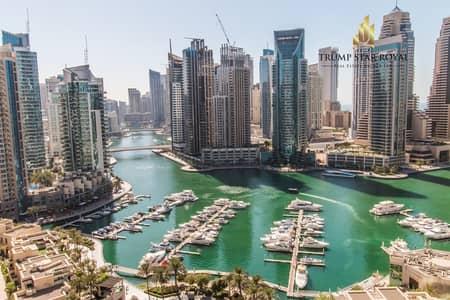 2 Bedroom Flat for Rent in Dubai Marina, Dubai - Full Marina View   2Br+Study Apt   For Rent