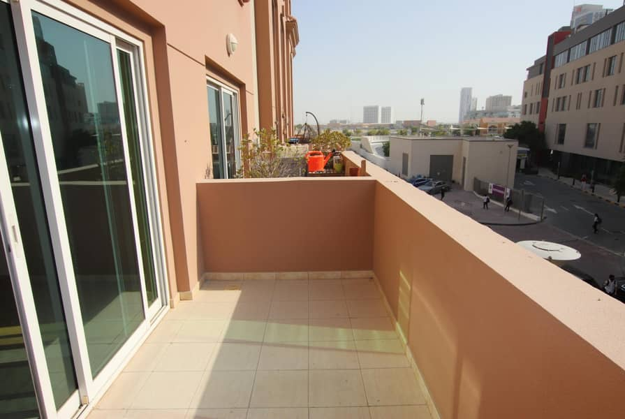 18 Two Bedroom Duplex Apt with Balcony and Maids Room