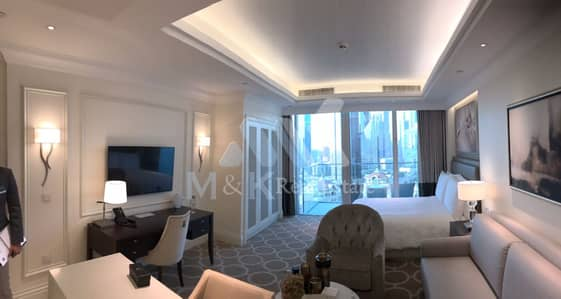 Studio for Rent in Downtown Dubai, Dubai - All INCLUSIVE Fully Furnished Serviced Studio