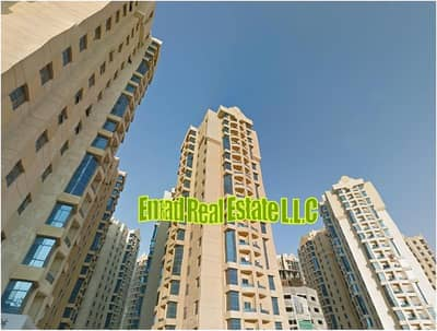 1 Bedroom Flat for Rent in Ajman Downtown, Ajman - Al Khor Towers: 1 Bed Hall (Close Kithen) 916 sqft spacious