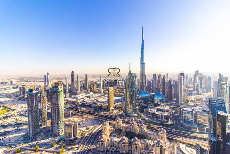 With 360 Video Tour   Burj Khalifa View   Luxury Penthouse