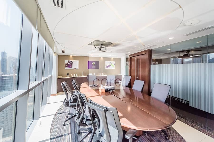 Fitted Office | Furnished | High Floor