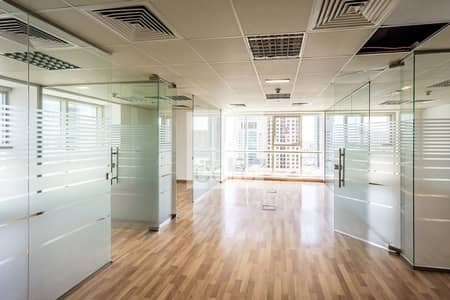 Fitted Office | Glass Partitions | Low Floor