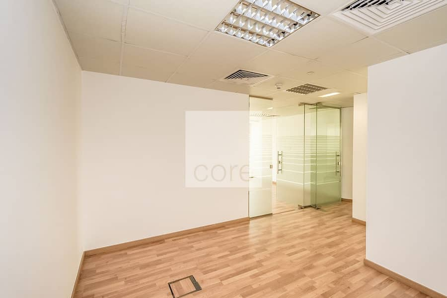 2 Fitted Office | Glass Partitions | Low Floor