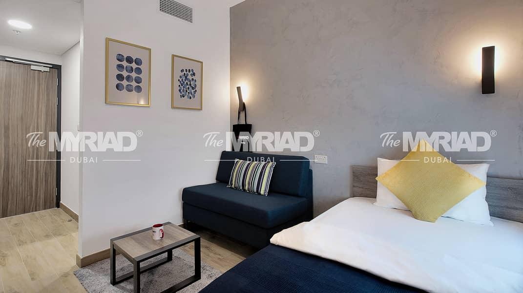 Student Accommodation   Studio Room - Female Block   The Myriad Dubai