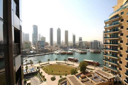 استوديو  للايجار في دبي مارينا، دبي - Marina View | Unfurnished Studio | Vacant