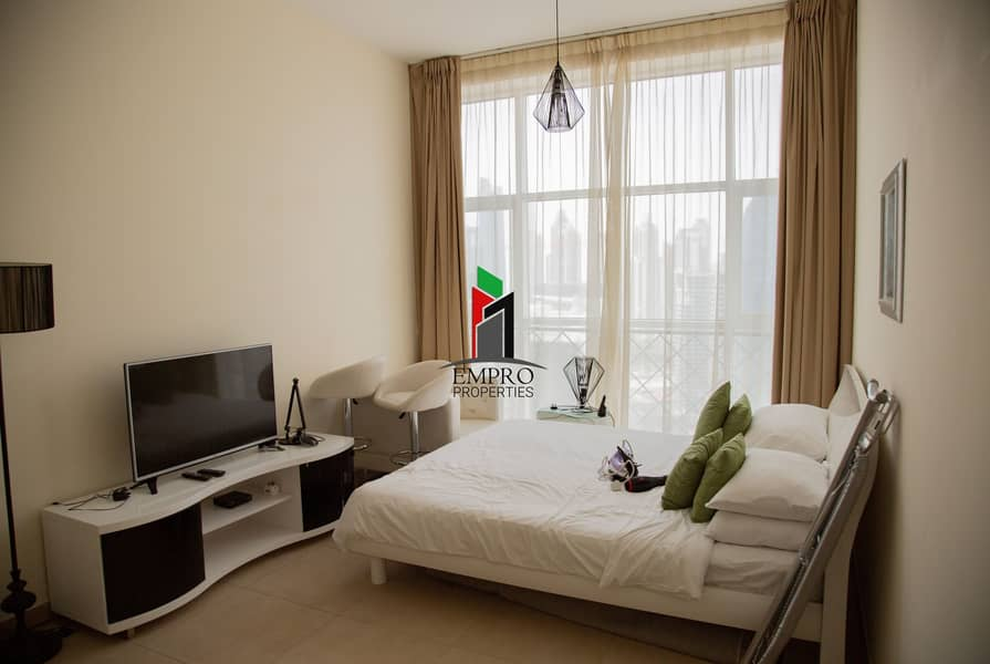 Furnished & equipped Studio in Business Bay