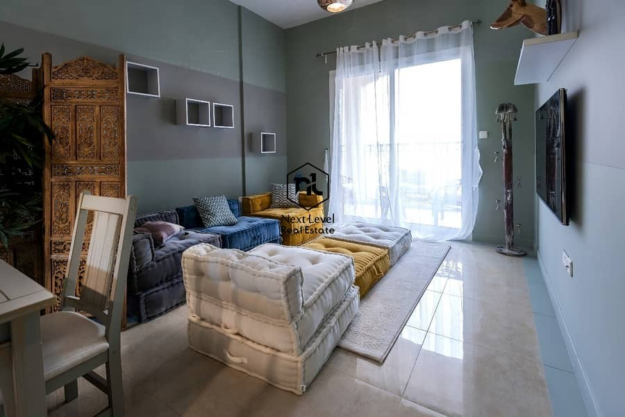 Big Size / Most Cheapest One Bedroom + Study FOR SALE in JVC Pantheon Boulevard