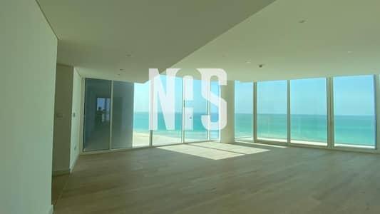 فلیٹ 3 غرف نوم للايجار في جزيرة السعديات، أبوظبي - FULL SEA VIEW  APPARTMENT