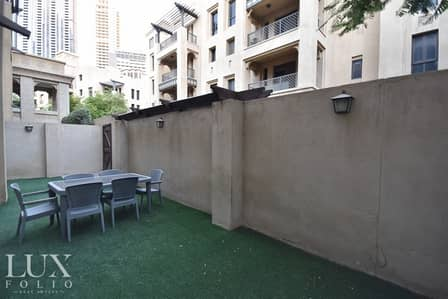 2 Bedroom Apartment for Rent in Old Town, Dubai - OT Specialist | Separate Dining | Private Garden