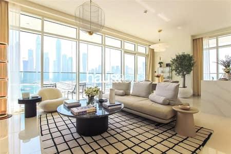 شقة 2 غرفة نوم للبيع في دبي هاربور، دبي - 3 Year Post Payment Plan - DLD Waiver - No fees