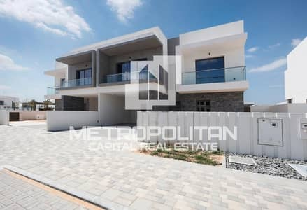 4 Bedroom Villa for Rent in Yas Island, Abu Dhabi - Ready To Move In Luxurious Single Row Villa Type X