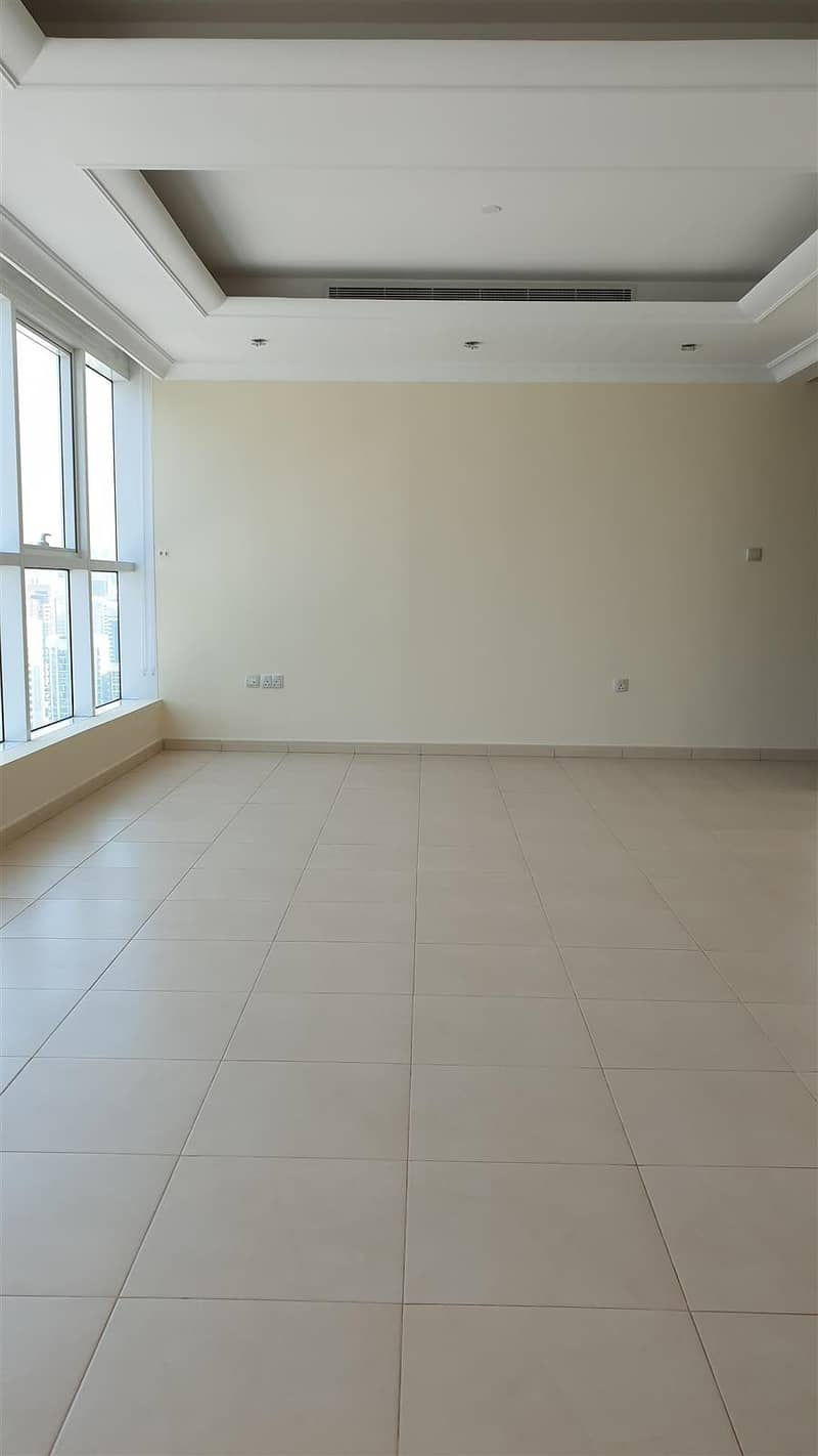 2 Amazing Brand New 3 Master Bedroom Flat available in Corniche area with sea view and  under ground parking