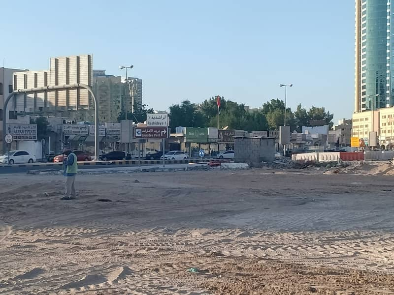 Commercial lands for sale in Sheikh Khalifa Street Gulfa Bridge
