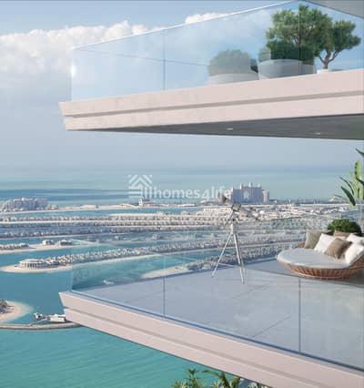 فلیٹ 1 غرفة نوم للبيع في دبي هاربور، دبي - Full Sea & Beach View Post Handover Payment