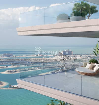 2 Bedroom Flat for Sale in Dubai Harbour, Dubai - 2BR w/ Beach Access Post handover Payment
