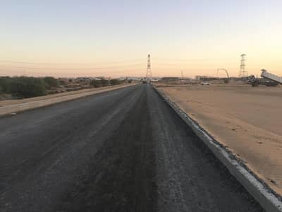 Residential land for sale in Manama Ajman-freehold-Best Location-near Al-Manama school-on Al-Naseem Street-only 135k