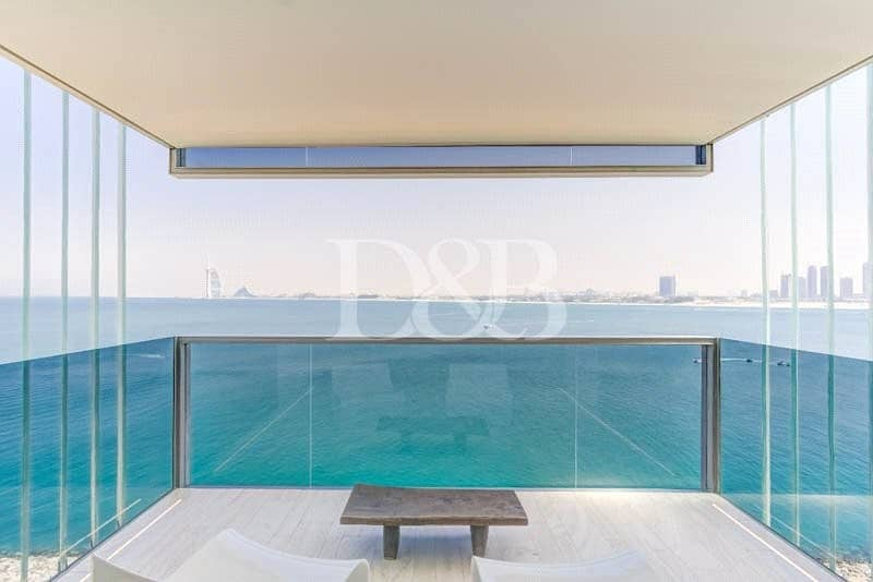 Luxurious Penthouse on Palm | Furnished 5 Bed