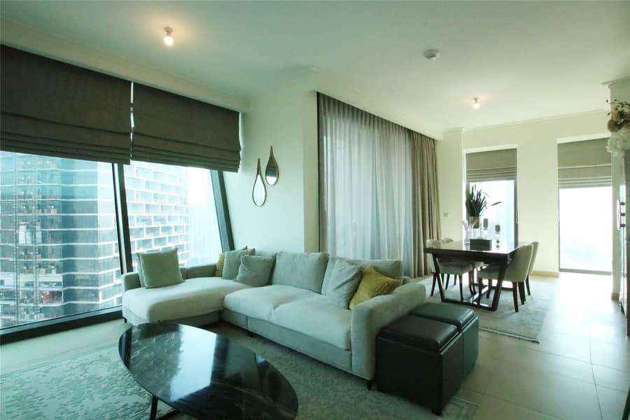 2 Three Bedrooms | Maids | Full Burj Views